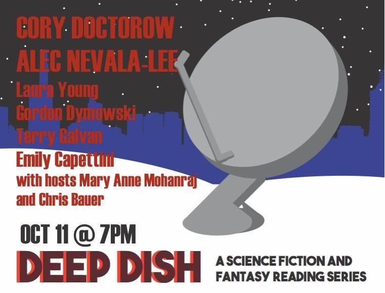 Deep Dish @ VolumesBookcafe