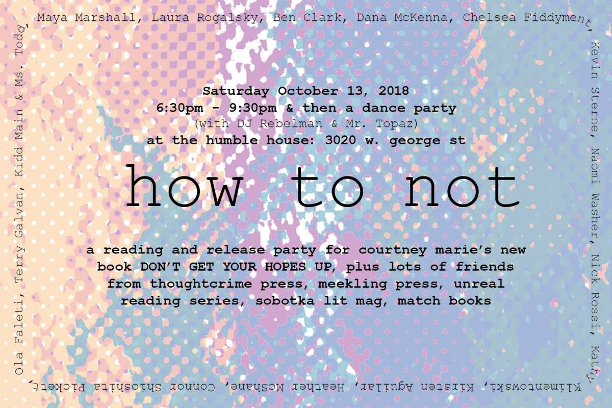 How To Not – BookRelease